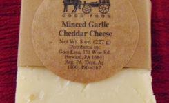 Minced Garlic Cheddar