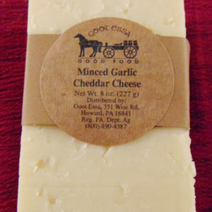 Minced Garlic Cheddar