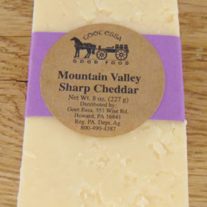 Mountain Valley Sharp Cheddar