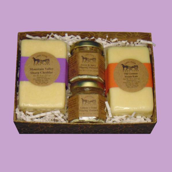 Cheddar & Spice Gift Basket