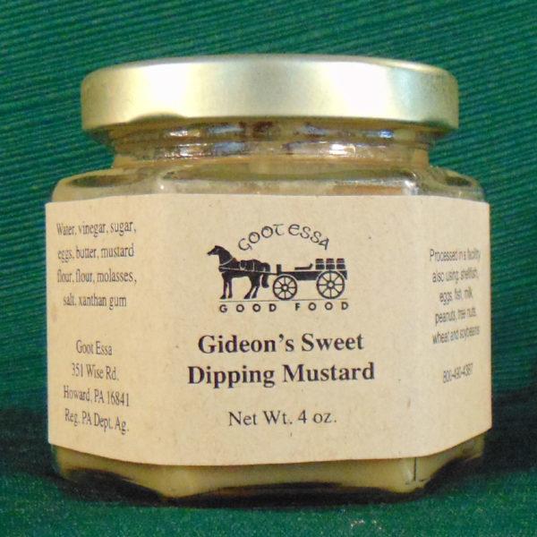 Gideon's Sweet Mustard