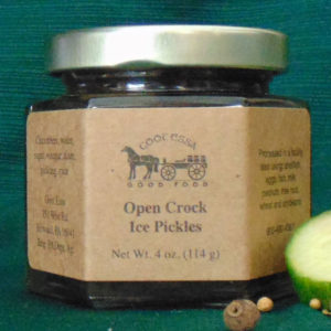 Open Crock Ice Pickles