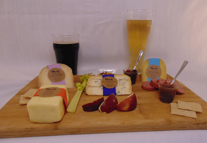 Beer Pairing with Weissa, gouda, bleu and schauf