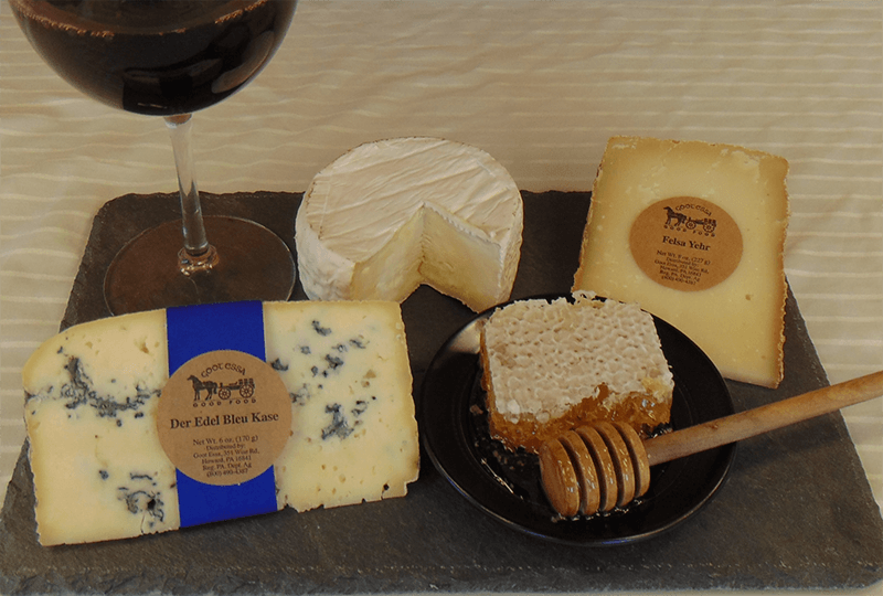 Wine Pairing with Der Edel Bleu Kase and Felsa Yehr
