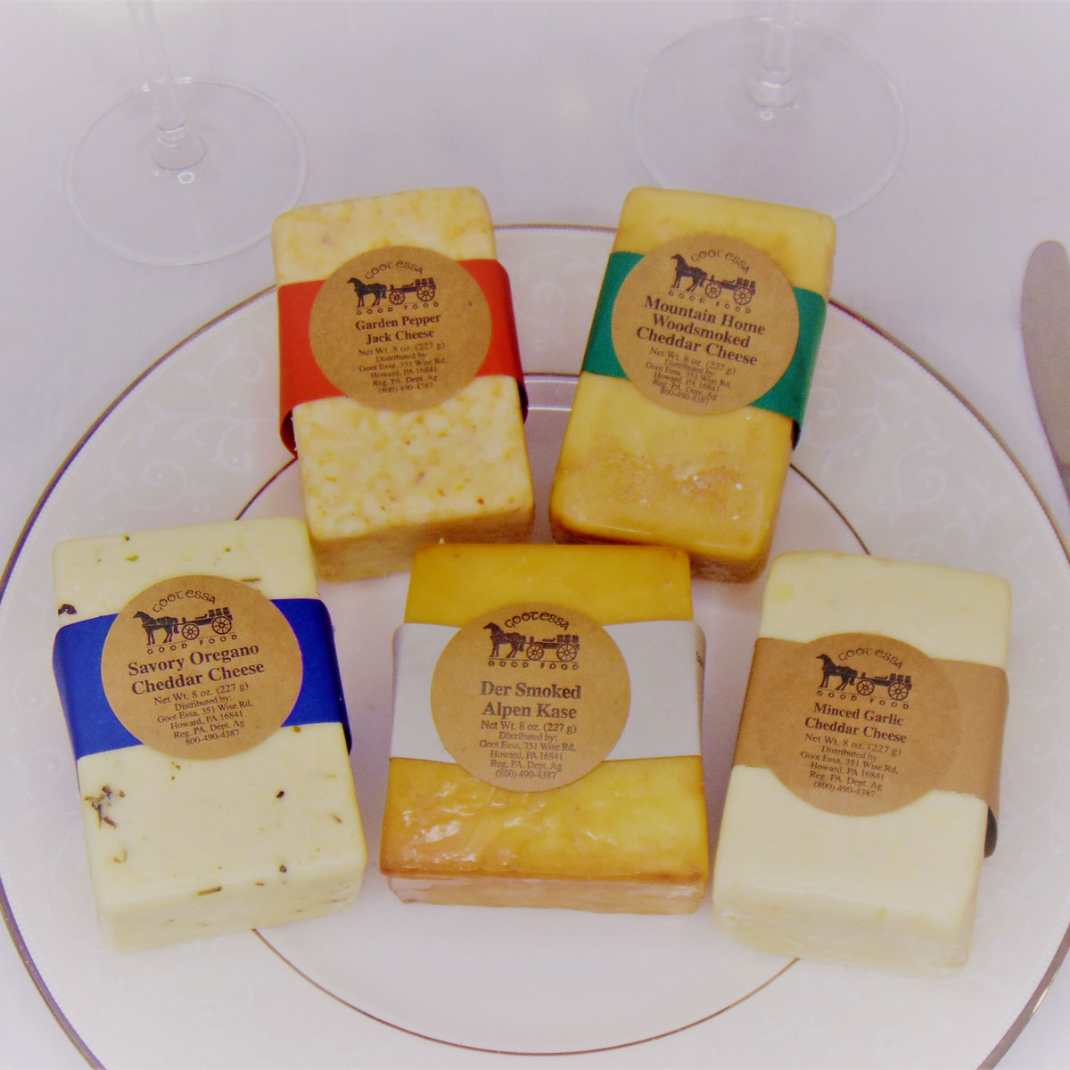Flavored Cheese Pairing